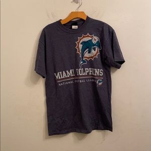 NFL team apparel medium Miami dolphins shirt